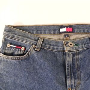Tommy Hilfiger Jeans 9 Blue Flared 80's Mom 32X32